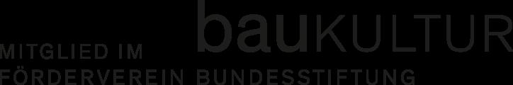 Logo Bundesstiftung Baukultur